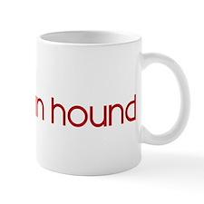 Afghan Hound (dog paw red) Mug