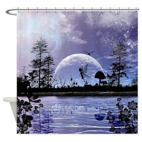 Cute Fairy Shower Curtain