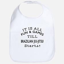 It is all fun and game till Brazilian Jiu-Jits Bib
