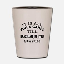 It is all fun and game till Brazilian J Shot Glass