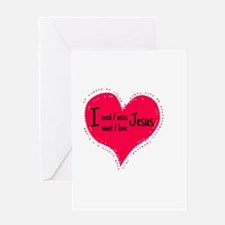 I love you Greeting Cards