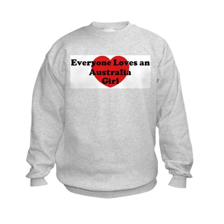 Australia girl Kids Sweatshirt