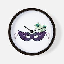 Face Mask Wall Clock