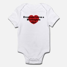 Burlington girl Infant Bodysuit