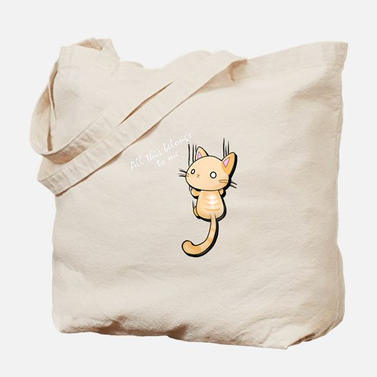 Cute Nya Tote Bag