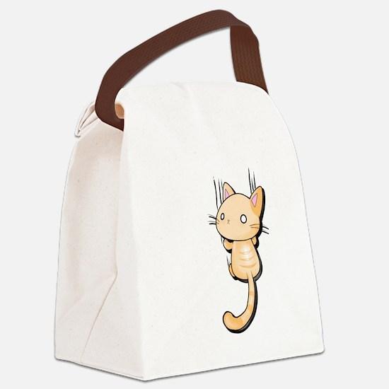 Unique Kitties Canvas Lunch Bag