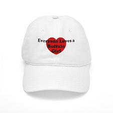 Buffalo girl Baseball Cap