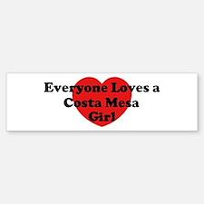 Costa Mesa girl Bumper Bumper Bumper Sticker