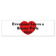 Buena Park girl Bumper Bumper Sticker