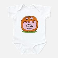 Halloween Insert Candy Here Infant Bodysuit
