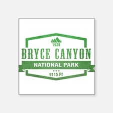 "Funny National park rocky mountain Square Sticker 3"" x 3"""