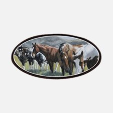 Pretty Horses all in a row Patch
