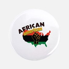 African American Button