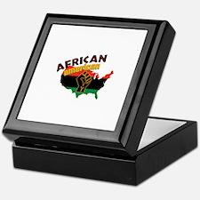 African American Keepsake Box