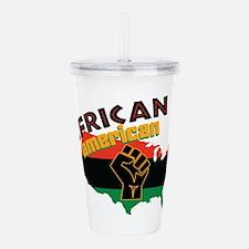 African American Acrylic Double-wall Tumbler
