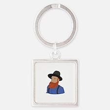 Amish Man Keychains