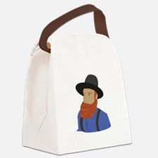 Amish Man Canvas Lunch Bag