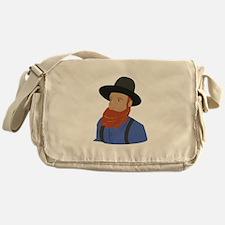 Amish Man Messenger Bag