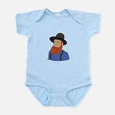 Amish Man Body Suit