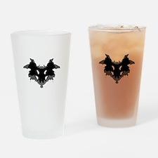 Rorschach Test Drinking Glass