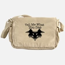 What You See Messenger Bag