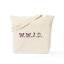 Satin Hippie WWJD Tote Bag
