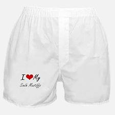 I Love My Sindh Mastiffs Boxer Shorts