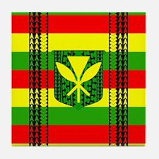 Tribal Kanaka Maoli Tile Coaster