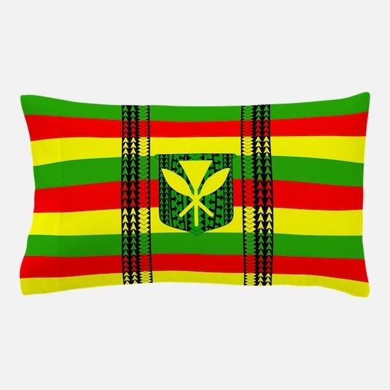 Tribal Kanaka Maoli Pillow Case