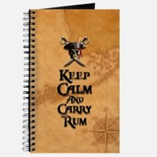 Keep Calm And Carry Rum Journal
