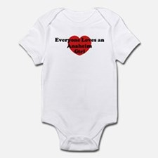 Anaheim girl Infant Bodysuit