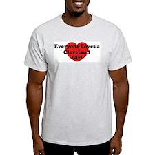 Cleveland girl T-Shirt