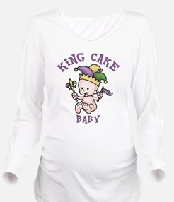 Cute Images of fleur de lis Long Sleeve Maternity T-Shirt