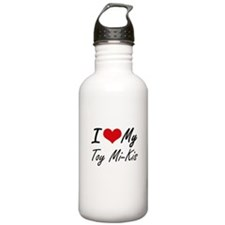 I Love My Toy Mi-Kis Water Bottle
