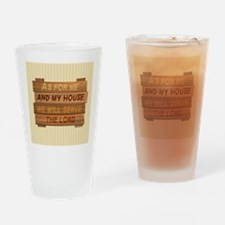 Serve the Lord Drinking Glass