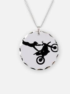 motorcross bike jumping Necklace