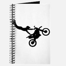 motorcross bike jumping Journal