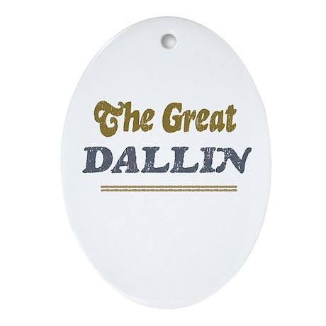Dallin Oval Ornament