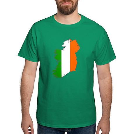 Ireland Map Flag T-Shirt
