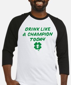 Drink Like A Champion Baseball Jersey