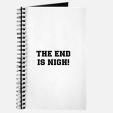 THE END IS NIGH! Journal