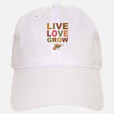 Live Love Grow Baseball Baseball Cap