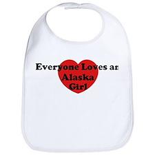 Alaska girl Bib
