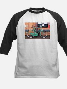 Green Bicycle Vintage Baseball Jersey