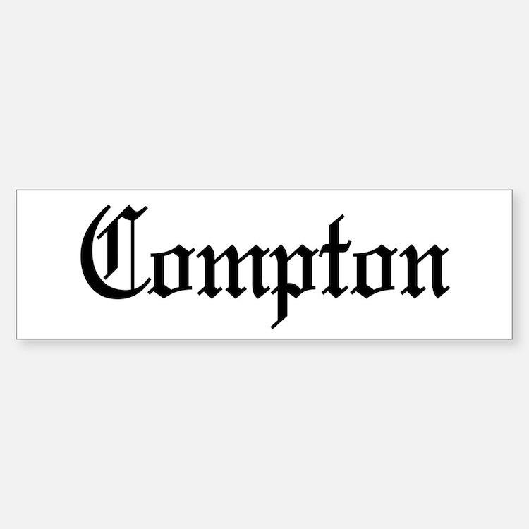 City of Compton Bumper Bumper Bumper Sticker