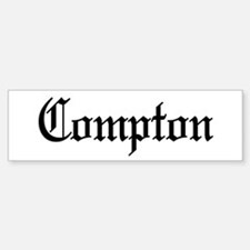 City of Compton Bumper Bumper Stickers