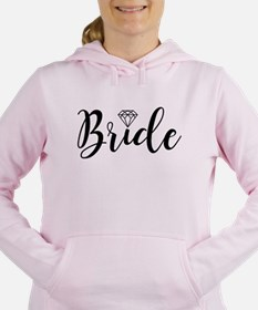 Chic Typography - Bride Women's Hooded Sweatshirt