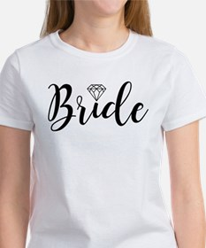 Chic Typography - Bride T-Shirt