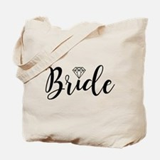 Chic Typography - Bride Tote Bag
