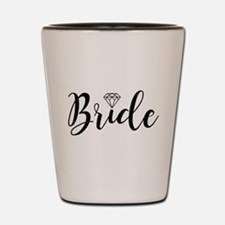 Chic Typography - Bride Shot Glass